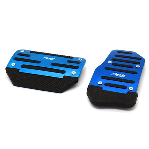 Stanniz(TM) Sport Racing Style Non Slip Car Foot Pedal Cover Kit for A/T Automatic Transmission - Blue