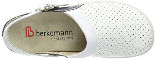 Berkemann Unisex Volwassen-tec Pro-brage Arbeitsclogs Wit (wit (oceaan)