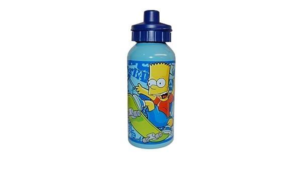 Bart Simpson 400 ml. Botella para hacer deporte Aliuminium ...