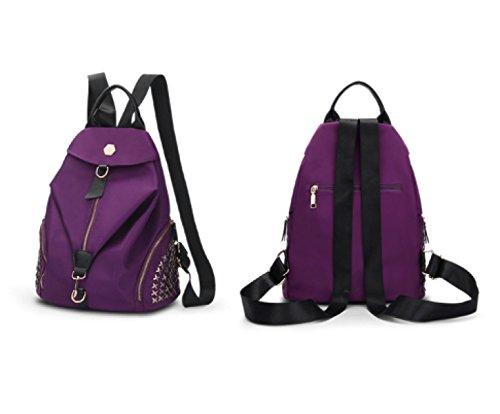 Ayer Bolso De Hombro De Las Señoras Bolso De Hombro De Las Señoras Del Bolso Del Viento De La Universidad Purple