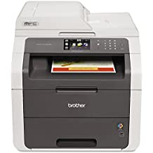 Brother MFC9130CW MFC-9130CW Wireless All-in-One Laser Printer, Copy/Fax/Print/Scan