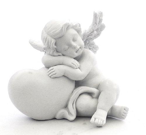 Loves Child Angel Cupid Home Decor Cherub Statue Baby Sculpture Figurine (Cherub Statue)