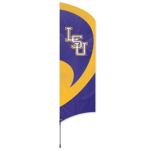 Ncaa Party Kit (Party Animal NCAA LSU Tigers College Tailgating Flag Kit)