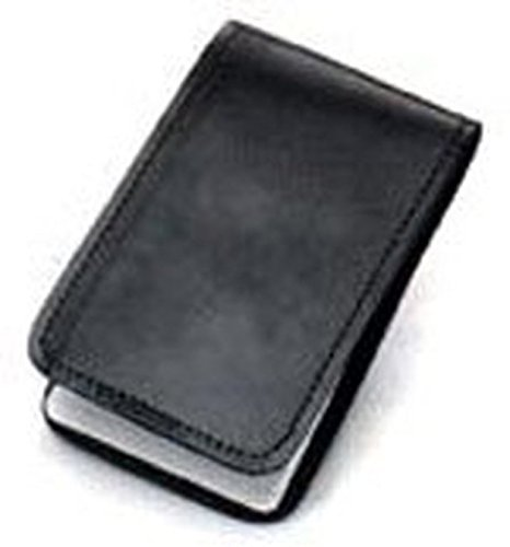 Leather Pocket Memo Pad Holder Cover Note Pad Holder Plain- 2 PACK (Box Leather Memo)