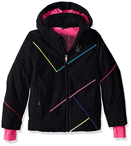 Usa Girls Black Down Jacket - 3
