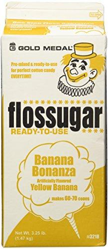 Gold Medal 3218 Banana Flossugar, 3.25 lb Carton Each ()