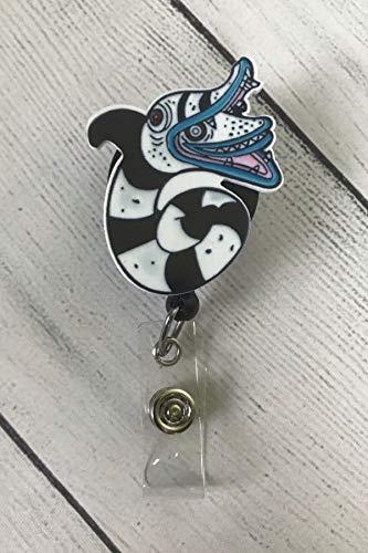 Sandworm, Cute Badge Reel, Nurse Badge Reel, Halloween Badge Reel, Lanyard, Animal