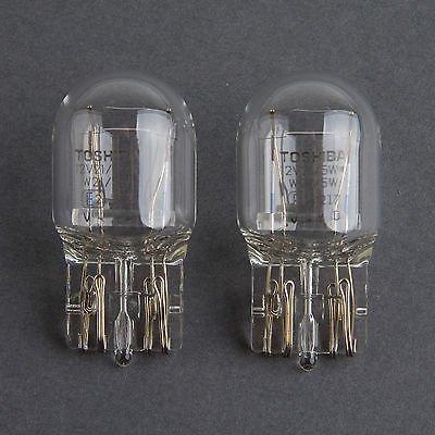 HYUNDAI OEM Toshiba 7443 T20 12V 21//5W Clear Bulb Made in Japan Quantity=2