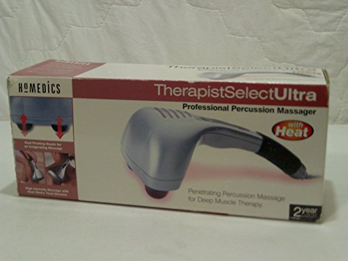 Homedics Therapist Select Ultra Professional Percussion Massager with heat #PA-1H - Homedics Therapist Select Percussion Massager Heat