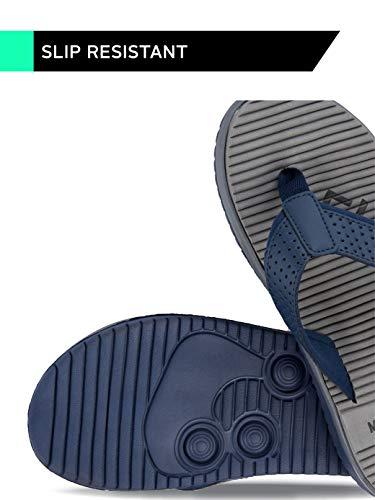 f921718a4fd5 Mio Marino Flip Flops for Men - Comfortable Mens Beach Flip Flop Sandals -  Memory Foam