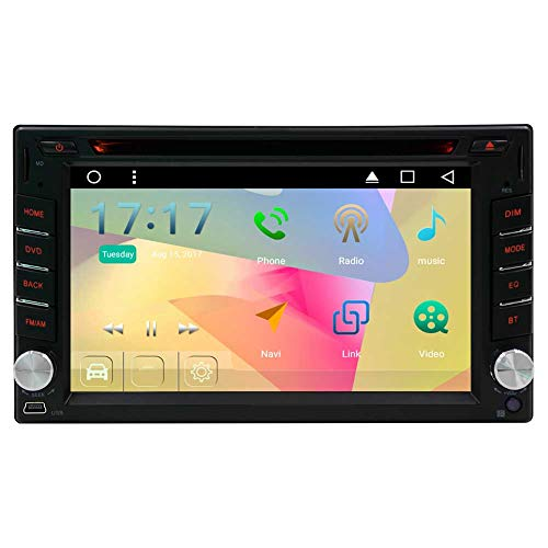 Cheap EinCar Android 6.0 Marshmallow 6.2 inch Head Unit Double Din Car Stereo Supports GPS Navigation Car DVD Player in Dash 2 Din Car Radio Bluetooth HD Capacitive Touch Screen WiFi