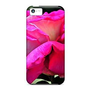 New Koj9573zzPh Pink Rose Lover Hearts Of Dn Skin Cases Covers Shatterproof Cases For Iphone 5c