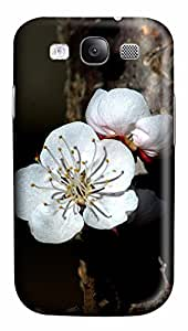 Samsung Galaxy S3 I9300 Cases & Covers - White Apricot PC Custom Soft Case Cover Protector for Samsung Galaxy S3 I9300