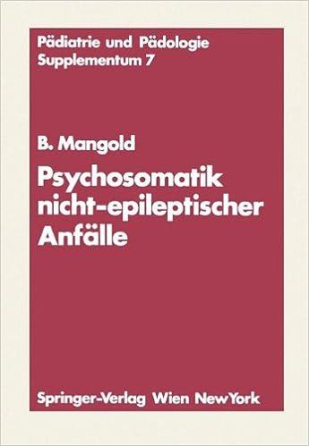 Book Psychosomatik nicht-epileptischer Anfälle (Pädiatrie und Pädologie Supplementa)