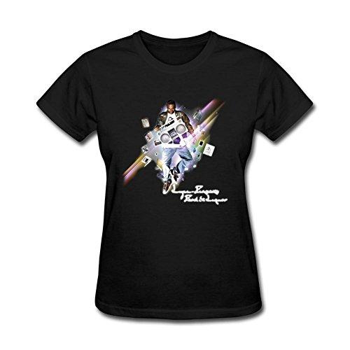 SUNRAIN Women's Rapper Lupe Fiasco Poster T shirt