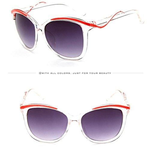 6 moda colores de o Adeshop sol Gafas de Dise Cx1Zqwwdn