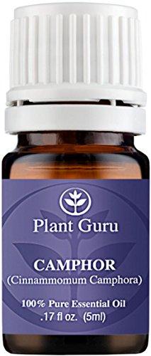 Aceite esencial de alcanfor. 5 ml. 100% puro, sin diluir, terapéuticas grado.