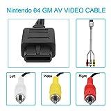 AV Composite Cable - 2.4M 9.5 Feet N64 AV Cable