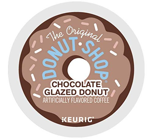 (The Original Donut Shop Chocolate Glazed Donut Coffee single serve capsules for Keurig K-cup pod brewers (24 Count))