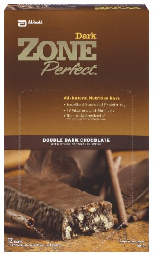 Zone Perfect Double Dark Chocolate, 1.58-Ounce Bars (Pack of 12)