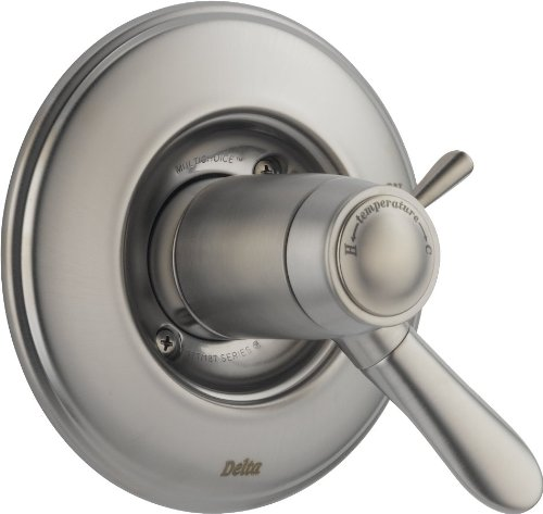 Delta T17T038-SS Lahara Tempassure 17T Series Valve Trim Only, Stainless by DELTA FAUCET