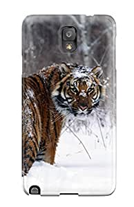Cleora S. Shelton's Shop 7982578K69769363 High Quality Shock Absorbing Case For Galaxy Note 3-tiger In Snow