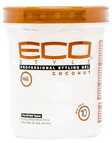Eco Style Gel Coconut Oil, 32 Ounce