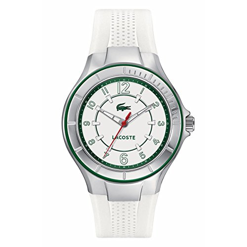 Lacoste Watch, Women's Acapulco White Silicone Strap 38mm 2000755