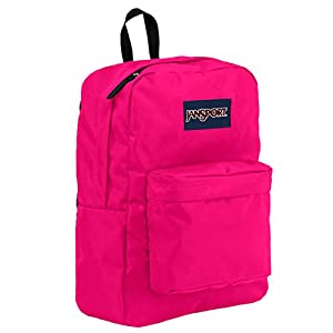 JanSport T501 Superbreak Backpack - Pink Tulip