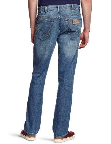 37w Broke Blu Wrangler Uomo Broke Stretch Jeans Texas Worn worn OO47wUqR