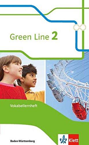Green Line 2. Ausgabe Baden-Württemberg: Vokabellernheft Klasse 6 (Green Line. Ausgabe für Baden-Württemberg ab 2016)