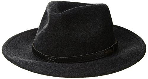 (Pendleton Men's Indiana Hat, Charcoal LG)