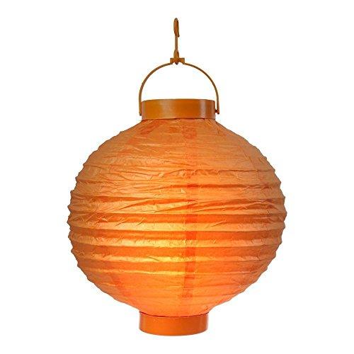 s o 10er pack led lampions orange laterne lampion garten balkon terrasse party beleuchtung. Black Bedroom Furniture Sets. Home Design Ideas