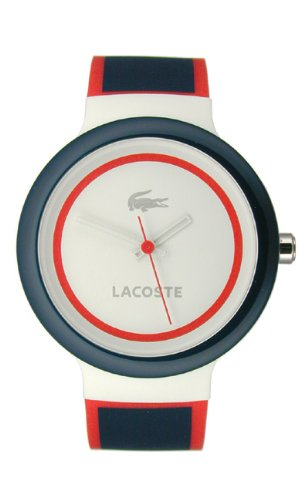 Lacoste Goa Silicone - Navy/Red Unisex watch #2020029