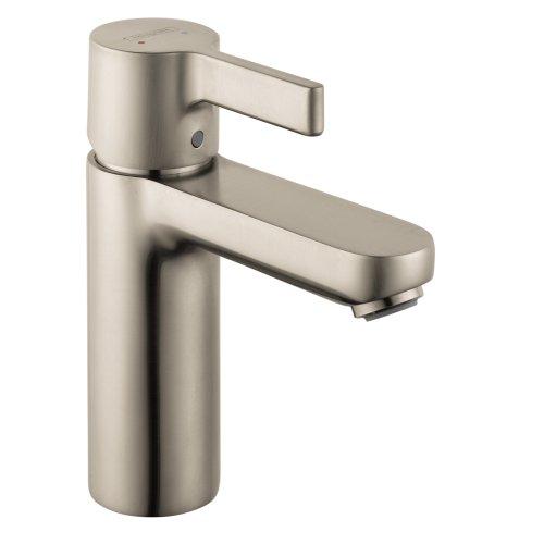 Hansgrohe 31060821 Metris S Single-Hole Faucet, Brushed Nickel - Metris Single Handle