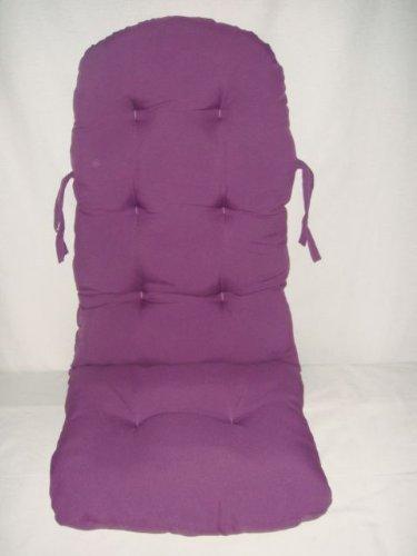 Rattan im Trend - Cojín para silla mecedora, color lila ...