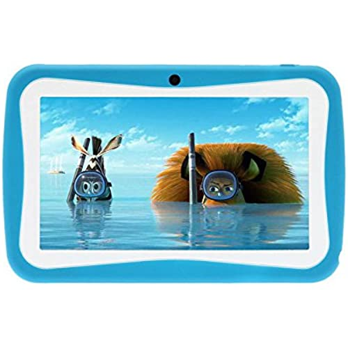 PoGo 7 Android 4.0 Tablet PC for Kids Children A13 1.2GHz 4GB Dual Cam- (Blue) Coupons
