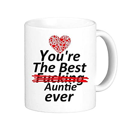 Amazoncom Lreraypo Best Aunts Gifts Funny Quotes Youre The Best