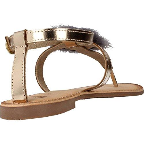 45329 grises Mujer Dorado Para Plataforma Sandalias Con Gioseppo RdCUwcqU