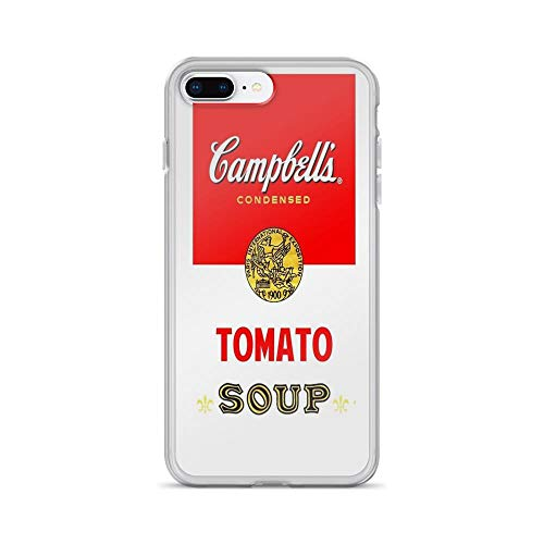 iPhone 7 Plus/iPhone 8 Plus Case Clear Anti-Scratch Campbell's Soup, Campbell Cover Phone Cases for iPhone 7 Plus, iPhone 8 Plus]()