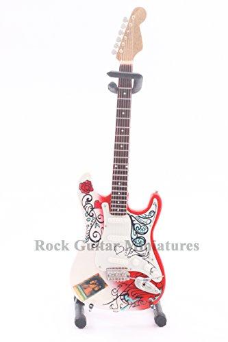 RGM97 Jimi Hendrix Monterey Miniature Guitar with FREE guitar Keyring