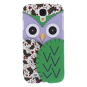 Matte Design Owl Pattern Hard Case for Samsung Galaxy S4 I9500