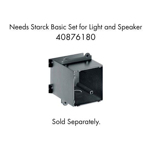 Hansgrohe 40874821 Axor Starck Speaker, Brushed Nickel by AXOR (Image #1)