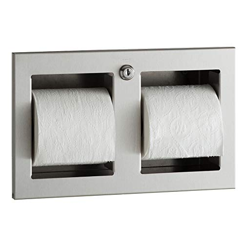 Bobrick B-35833 Recessed Multi-Roll Toilet Tissue Dispenser by Bobrick (Image #1)