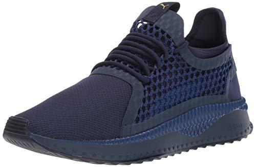 PUMA Men's Tsugi Netfit Sneaker, Peacoat-Sodalite Blue-Taffy