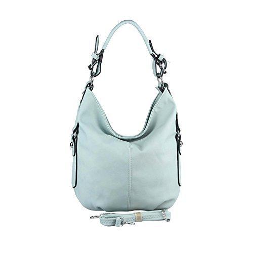 OBC Only-Beautiful-Couture - Bolso al hombro para mujer Azul azul ca.: 33x30x12 cm (BxHxT) azul claro