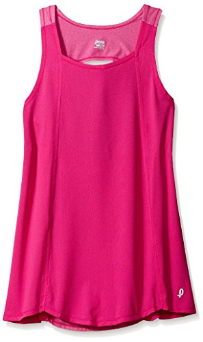 PENN Women's Diamond Mesh Singlet, Rose Violet Heather, XS