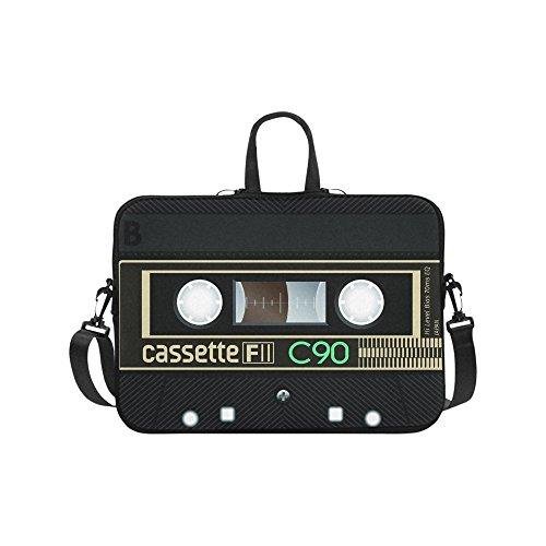 Laptop Sleeve Case 15 15.2 Inch,Music Cassette Tape Resistant Neoprene Laptop Sleeve Notebook Computer Pocket Case Tablet Briefcase Carrying Bag Laptop Shoulder Bag
