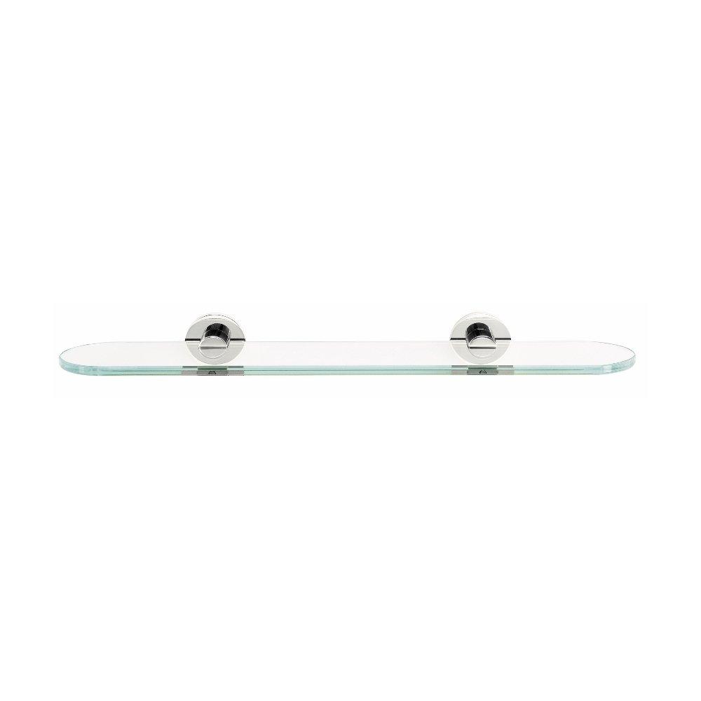 Alno a835018pc modernes Glas Badezimmer Regal
