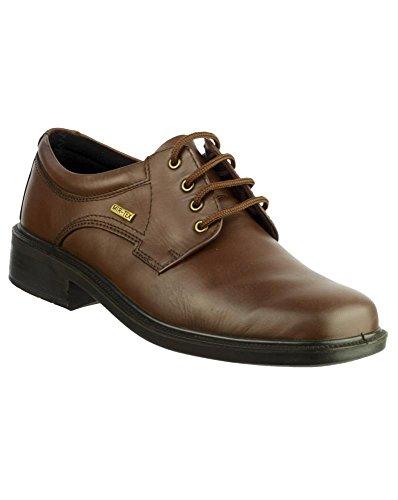 Cotswold - Zapatos de cordones para mujer, color marrón, talla 35